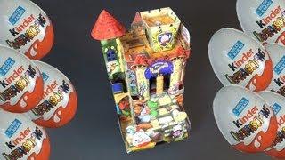 Kinder Surprise - Vampirelli Castle (Italy 2000) RARE (Kinder Sorpresa)