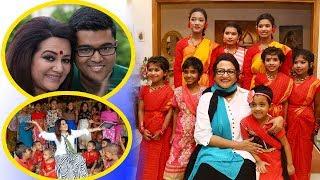 কিভাবে জন্মদিন পালন করেন অভিনেত্রী ববিতা দেখলে চোখে পানি চলে আসবে   Bobita Birthday Celebration News