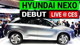 LIVE from CES: Hyundai Unveils a New Electric Car NEXO