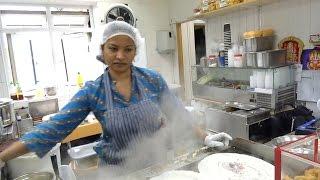 RAVA MASALA DOSA, INDIAN STREET FOOD, STREET FOOD IN LONDON 2016
