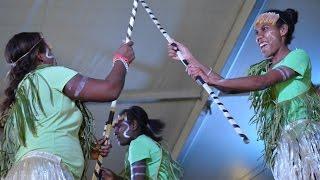 Solomon Islands Dances at the Townsville Cultural Fest 2014