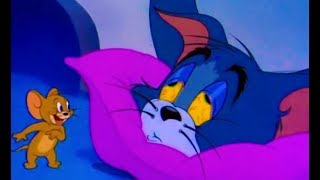 Tom And Jerry English Episodes - Funny Cartoon - Sleepy Time Tom