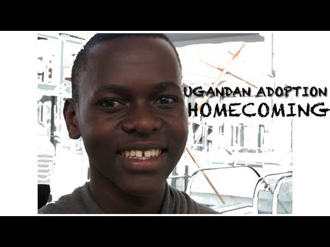 UGANDAN ADOPTION HOMECOMING - TEEN BOY