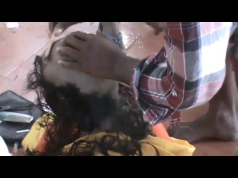 Tamil Woman Forced Head Shave