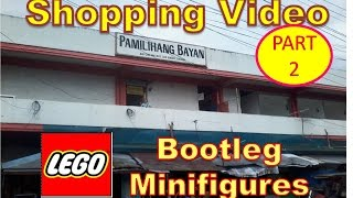 Shopping Video: Bootleg/Fake IRONMAN LEGO Minifigures October 5 2016 Part 2  (Raw Video)