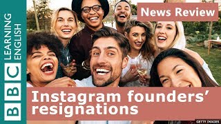 Instagram founders quit: BBC News Review