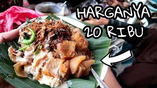 GUDEG 20JT !!! PAKAI SAMBAL IJO & EMPAL - INDONESIAN STREET FOOD