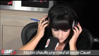 Marion chauffe une meuf et excite Cauet - C'Cauet sur NRJ