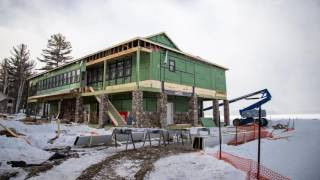 CAMP-of-the-WOODS: Larsen Lodge Spring Construction Update