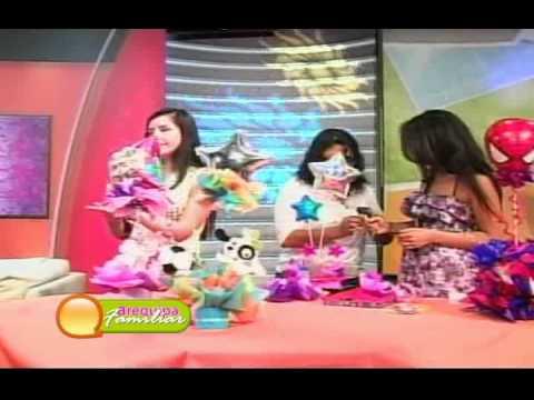 Arequipa Familiar Sepa como hacer un centro de mesa para fiestas infantiles