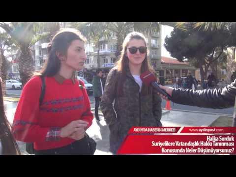 Halka Sorduk: Suriyelilere Vatandaşlık Hakkı Tanınması Konusunda Neler Düşünüyorsunuz?