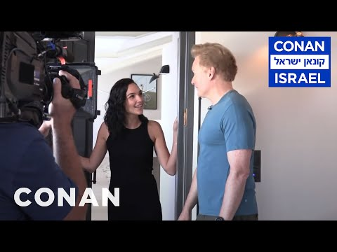 Xxx Mp4 Behind The Scenes Of Gal Gadot S ConanIsrael Cameo CONAN On TBS 3gp Sex
