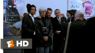 Basquiat (7/12) Movie CLIP - The Gallery Opening (1996) HD