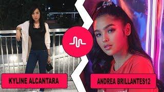 Kyline alcantara VS Andrea Brillantes12 (TV Actress Vs Muser) Musically Compilation 2018