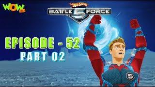Motu Patlu presents Hot Wheels Battle Force 5 SEASON FINALE - Unite And Strike! - S2 E52.P2