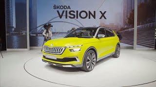 Skoda Fabia facelift 2019 and skoda vision X CNG Hybrid car preview | cargurus