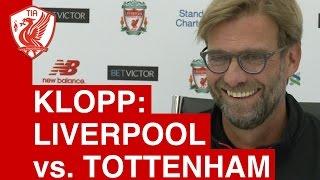Liverpool vs. Tottenham (League Cup) - Jurgen Klopp's Pre Match Press Conference
