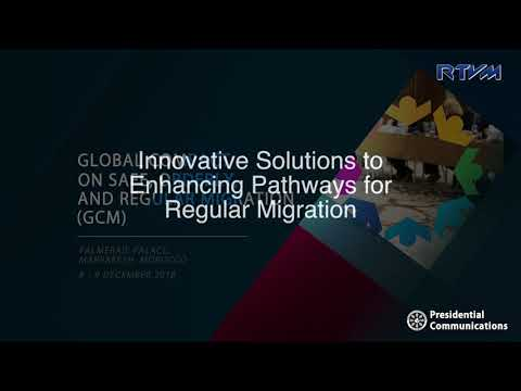 Innovative Solutions to Enhancing Pathways for Regular Migration 12/9/2018