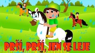Písničky pro děti a nejmenší | Prší, prší, jen se leje + 21 min.