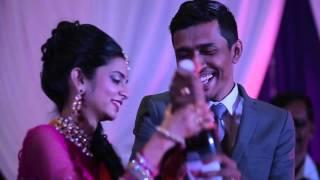 Sashitahran Malathi Wedding Reception Cinematic Video Montage