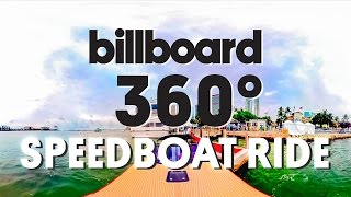 Blade Speedboat Ride to ULTRA 2016   360 VIDEO VR experience