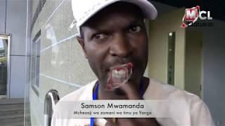 SAMSON MWAMANDA AELEZEA MCHEZO WA SIMBA NA YANGA