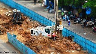 Mumbai Metro 7 and Metro 2 Construction in Progress!