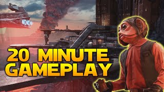 20 Minutes of Star Wars: Battlefront Outer Rim Gameplay! Greedo, Nien Nunb, Jabbas Palace & More!