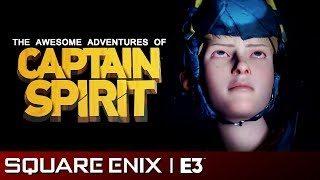 The Awesome Adventures of Captain Spirit Full Reveal | Square Enix E3 2018