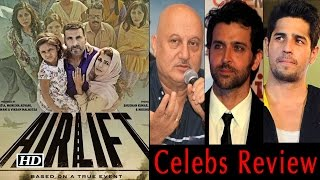 Airlift Trailer Leaves Bollywood In Shock | Celebs Review