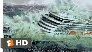 San Andreas (2015) - Tsunami Hits the Bay Scene (8/10) | Movieclips