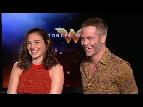 Xxx Mp4 WONDER WOMAN Gal Gadot Chris Pine Interview 2017 3gp Sex