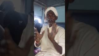 Old man funny video sence in train