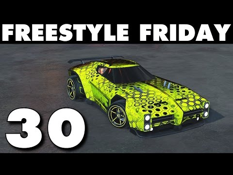 Rocket League | Freestyle Friday 30 (Best Goals & Funny Moments)