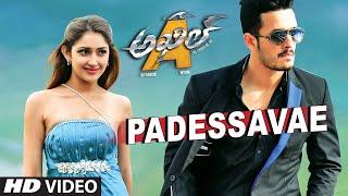 Padessavae Full Video Song || Akhil - The Power Of Jua || AkhilAkkineni,Sayesha