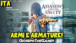 Assassin's Creed Unity | Tutte le Armi, Pistole, Armature e Vestiti! HD ITA By GiosephTheGamer