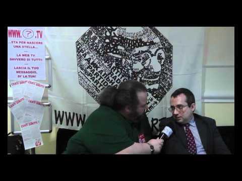 39mo congresso PRNTT - Intervista a Marco Beltrandi 2