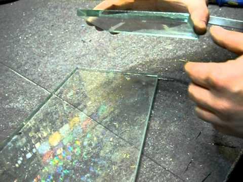В домашних условиях стекло
