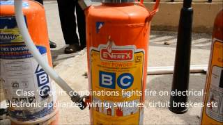 Fire Fighting in Apartments - Fire Extinguisher & Fire Equipments Demo