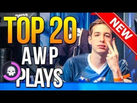 YOWchannel  | Top 20 AWP Plays Ever By Pro Players ★ CS:GO