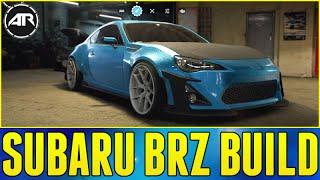 Need For Speed Gameplay & Customization : ROCKET BUNNY SUBARU BRZ DRIFT BUILD!!! (NFS 2015 Gameplay)