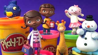 Doc McStuffins Figurine Playset - Doctor Prentend Lambie perfect girls toys by DisneyToysReview