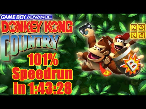 Xxx Mp4 Donkey Kong Country Speedrun In 1 43 28 101 GBA 3gp Sex
