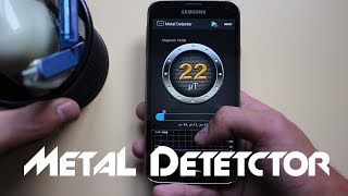 How To Turn Your Smart Phone Into A Metal Detector
