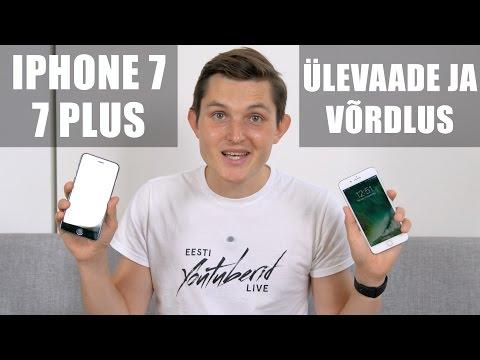 iPhone 7 ja 7 Plus - Karbist välja, ülevaade ja võrdlus