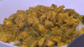 أرز بالكاري والدجاج  | نجلاء الشرشابي