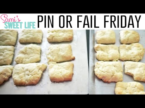 Melt in Your Mouth Cream Biscuits Recipe | Pin or Fail Friday