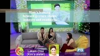 Xian Lim and Kim Chiu on KrisTV