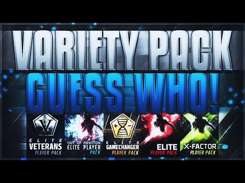INTENSE VARIETY GUESS WHO CRAZY 90 PULL Madden Mobile 17