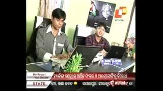 Founders of P9V Web Solutions Featured in Young Odisha, OTV News